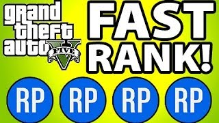 GTA 5 Online Fastest Way To Rank Up (GTA V
