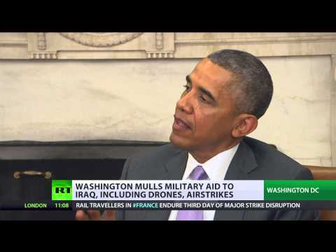 US to invade Iraq again? Obama doesn't rule anything out