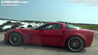 Nissan GTR 2011 Novidem 585 HP Vs Corvette Z06 Katech