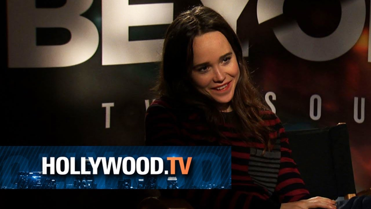 Ellen Page stars in the video game Beyond: Two Souls ... Ellen Page Game