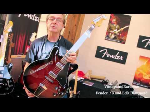 Fender Scandinavia / Copenhagen Guitar Show / Knud Erik Damgaard / Vintage & RareTv