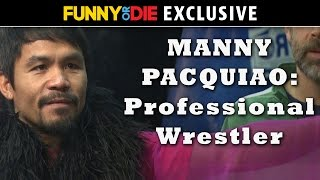Watch: Manny Pacquiao now a Professional wrestler