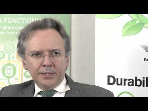 Conférence internationale - L'économie de la fonctionnalité: Louis Amory