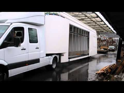 mercedes benz sprinter zugmaschine mit b hnen. Black Bedroom Furniture Sets. Home Design Ideas
