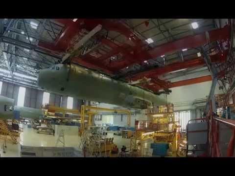 Как строят самолеты airbus завод в