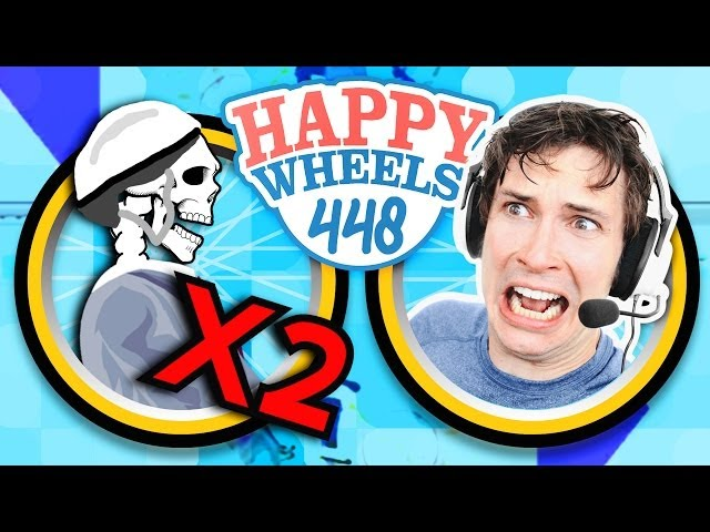 DOUBLE DEATH - Happy Wheels