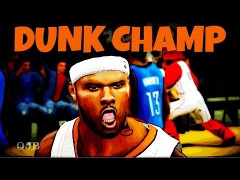 NBA 2k12 My Player: Commentators Dunk Contest Winner Neal Bridges | Ready for 2k13 Dunk Contest