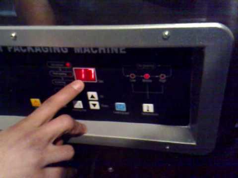 Maquina Empaque al Vacío