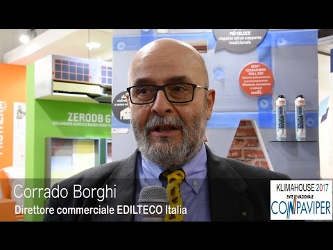 KLIMAHOUSE 2017, EDILTECO: CORRADO BORGHI