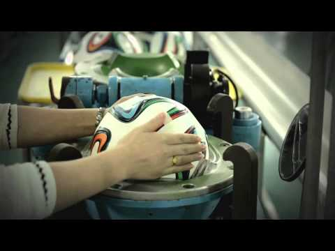 Making the World Cup Brazuca Ball with Adidas