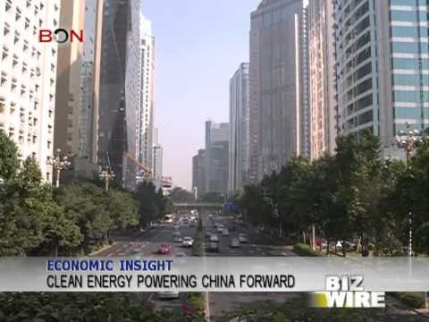 Clean energy powering China forward - Biz Wire - May 30,2014 - BONTV China