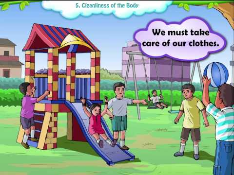 Learn Grade 1 - EVS - Cleanliness of The Body