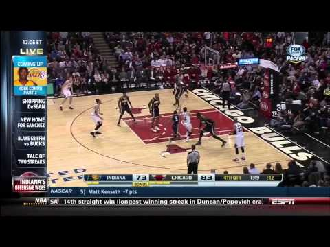 March 24, 2014 - ESPN - Game 69 Miami Heat Vs Portland Trailblazers - Win (48-21)(Sportscenter)