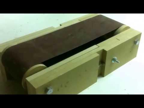 Cheap DIY Belt Sander 3. Adjustments