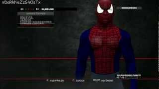 WWE´13 How To Create Spider-Man Part 2 Caw