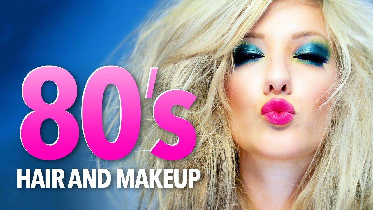 1980 S Hair Amp Makeup Tutorial Youtube