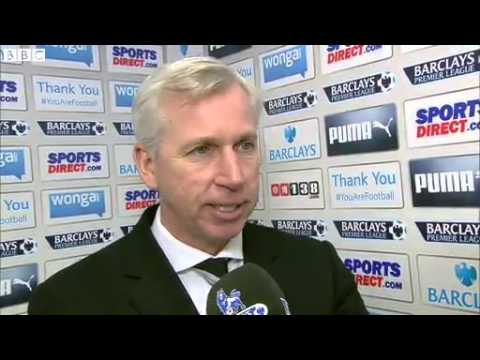 BBC Sport Newcastle 0-1 Arsenal Alana Pardew says players deserved more