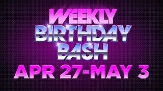 Celebrity Actor Birthdays - April 27-May 3, 2014 HD