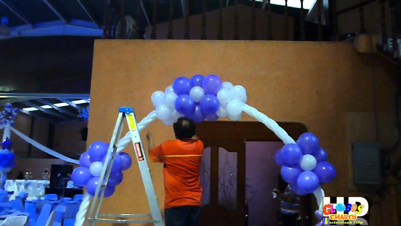 Decoracion de 15 a os con globo youtube for Decoracion de 15 anos con globos