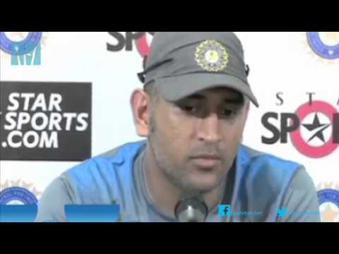 Mahendra Singh Dhoni on what he learnt from Sachin Tendulkar