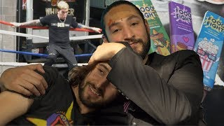 WRESTLING PRACTICE • Behind The Cow Chop