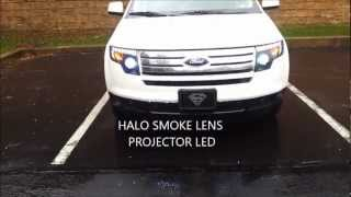 2010 ford edge halo headlight videos