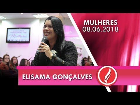 Encontro regional de mulheres - Miss. Elisama Gonçalves - 08 06 2018