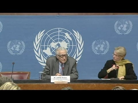 UN lowers expectations for first round of Syria peace talks