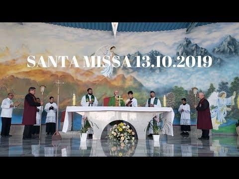 Santa Missa | 13.10.2019 | Padre José Sometti | ANSPAZ