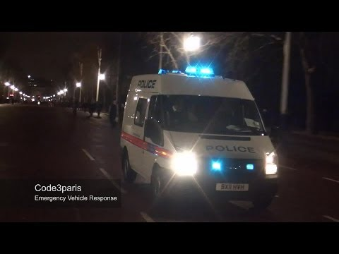 London Metropolitan Police Van