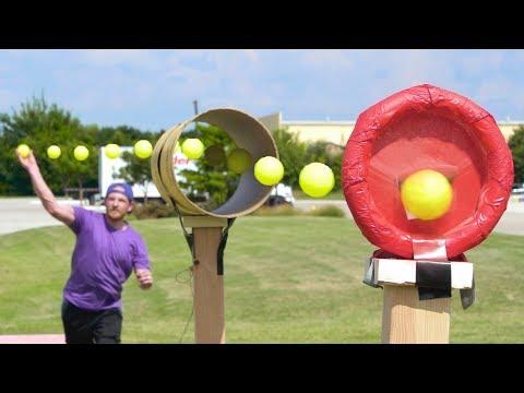 Blitzball Trick Shots 3  Dude Perfect