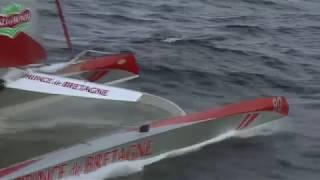 A la recherche du co-skipper de la Transat Jacques Vabre par Armel Le Cléac'h