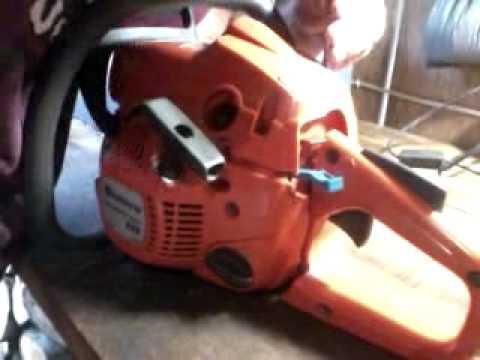 Motosserra husqvarna 235e desmontagem e montagem
