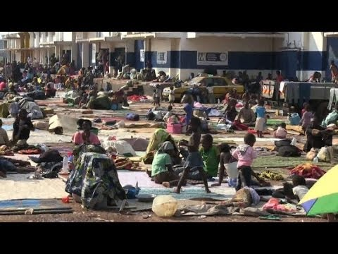 Displaced people suffer in Central African Republic