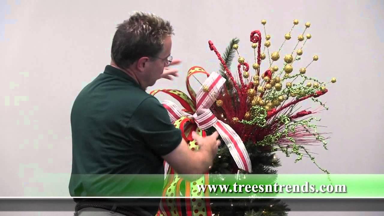 How to decorate a christmas tree trees n trends unique for Home decorations youtube
