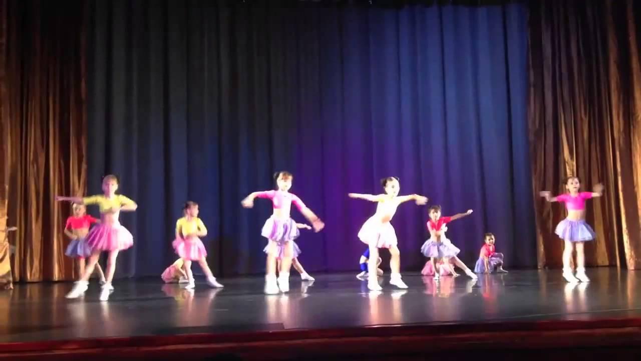 """Выступление детского коллектива """"Diva Baby Dance"""" студии DIVA на конкурсе Волна успеха 14 декабря 2013 года."""