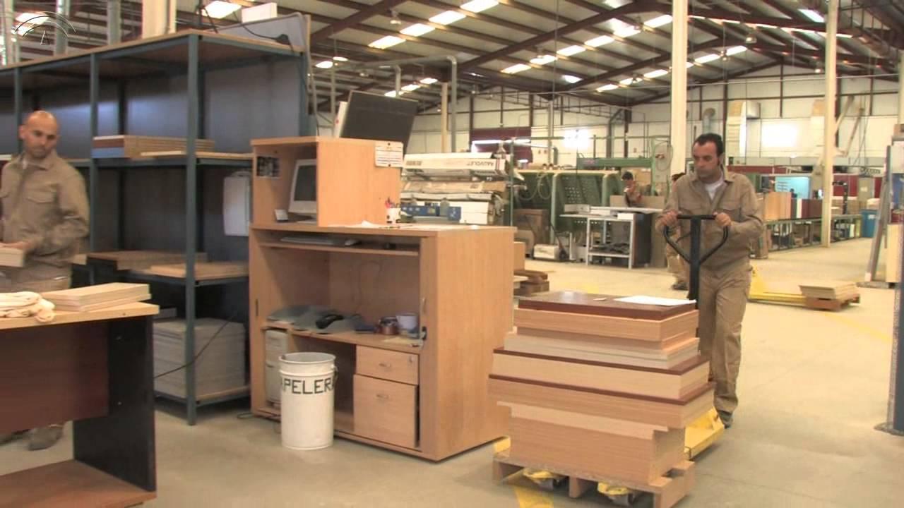 Prl fabricacion muebles madera youtube for Fabrica de sillas de madera