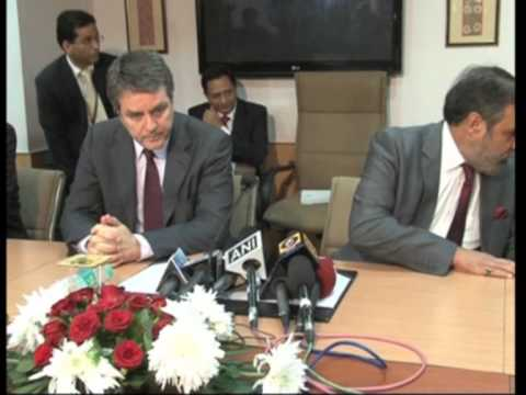 08 oct , 2013 - India's Trade Minister meets WTO Chief ahead of Bali talks