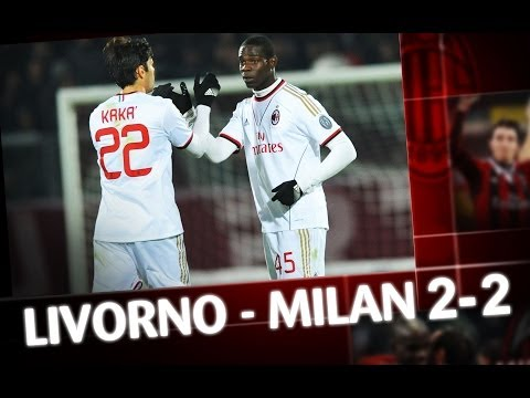 AC Milan | Livorno-Milan 2-2 Highlights