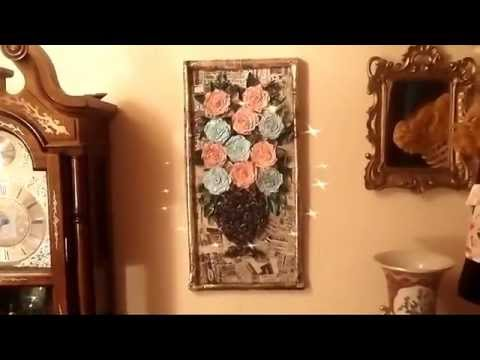 News paper crafts for home decor youtube Home decor crafts with paper