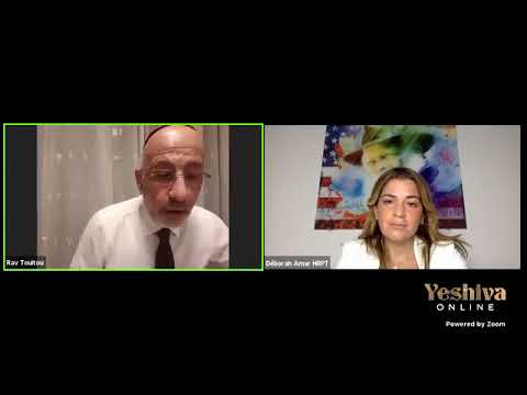 DEBAT Rav David Touitou avec Deborah Amar… Naît-on bon ou mauvais ? Choix ou fatalité ?