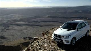 2012 Mercedes M-Class trailer videos