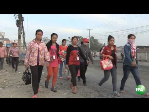 Situation in Veng Sreng Street Area on 08-Jan-2014