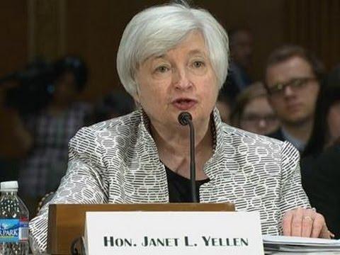 Yellen Says Economy Still Needs Fed Support