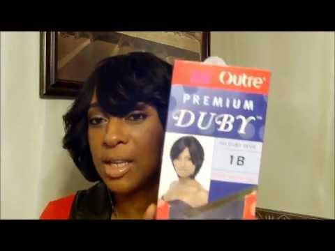 Duby Quick Weave Bob Hairstyle