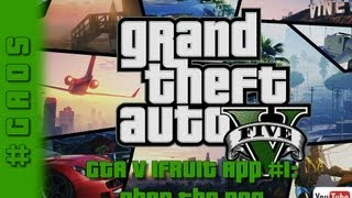 Grand Theft Auto V IFruit App #1: Chop The Dog Get The