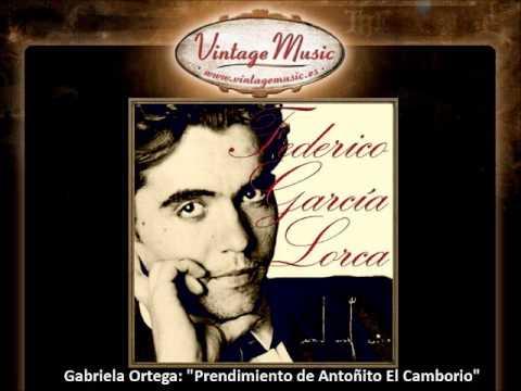 Prendimiento de Antoñito El Camborio de F.G.Lorca por Gabriela Ortega