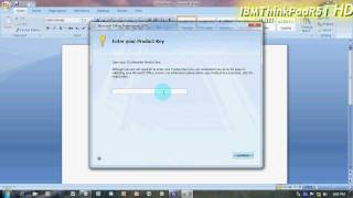 How To Make Microsoft Office 2007 60-Day Trial A Full