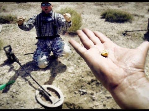 Поиск золота металлоискателем