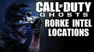CALL OF DUTY: GHOSTS All Rorke Files Intel Locations